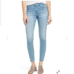AG Farrah Skinny Ankle Jean Size 25